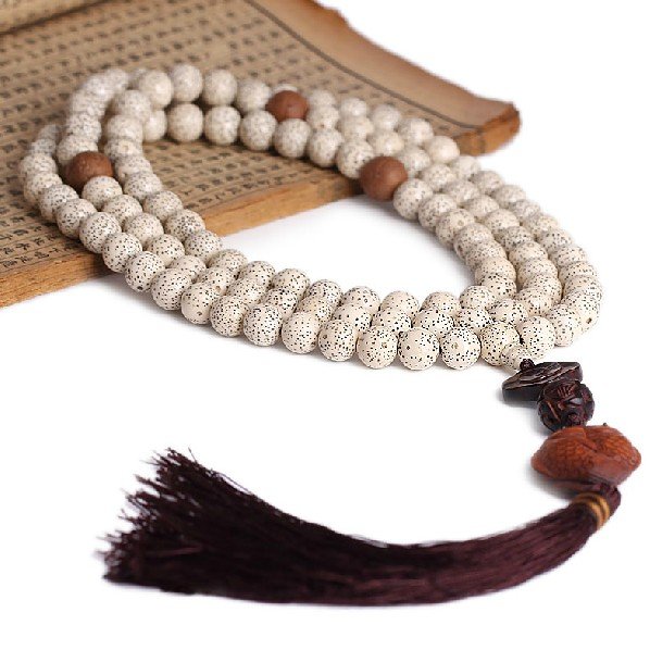 10MM Bodhi Seeds Mala Buddhist 108 Prayer Beads Mala Redsandalwood