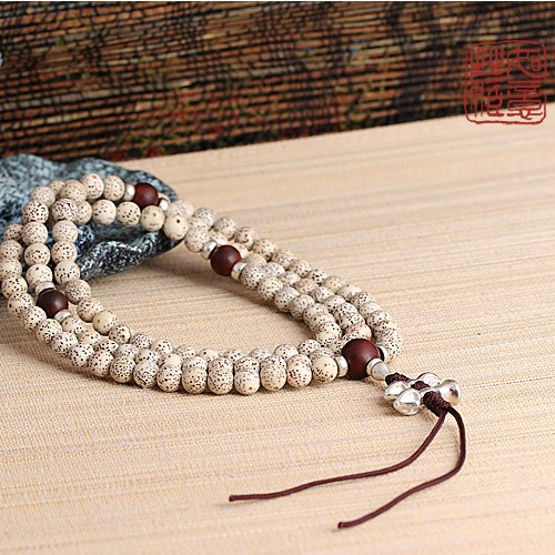 Bodhi Seeds Mala Tibetan 108 Prayer Beads Mala Redsandalwood