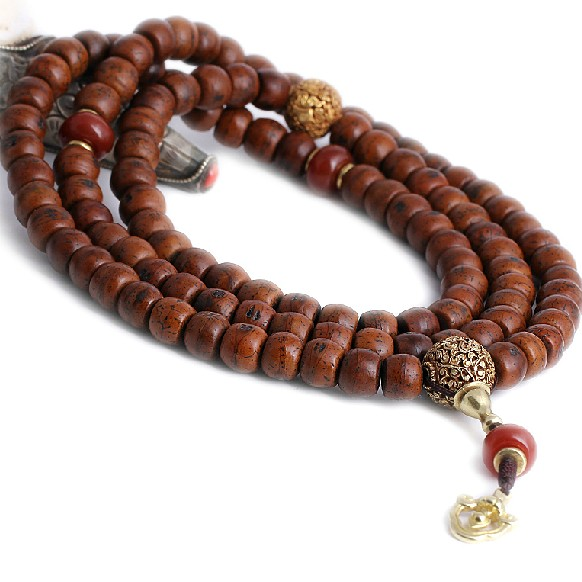 Bodhi Seeds Mala Tibetan 108 Prayer Beads Mala Agate