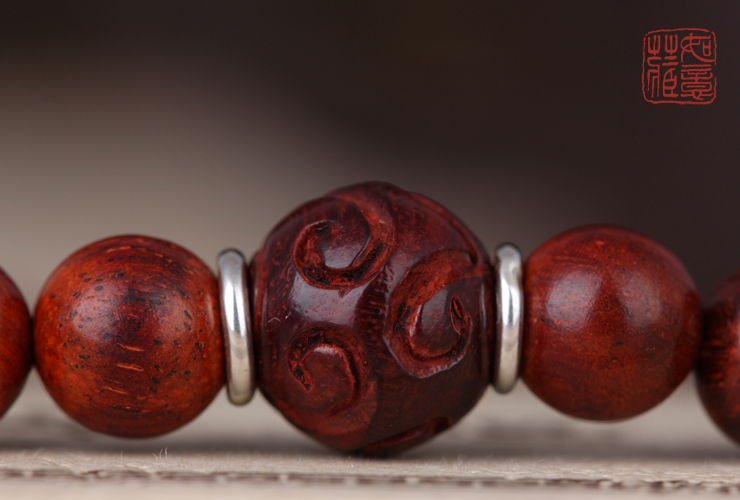 redsandalwood 108 beads mala