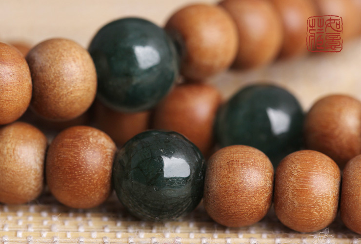Indian sandalwood 108 beads mala