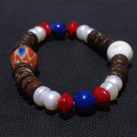 Tibetan Beaded Bracelet Tribal Beads Bracelet
